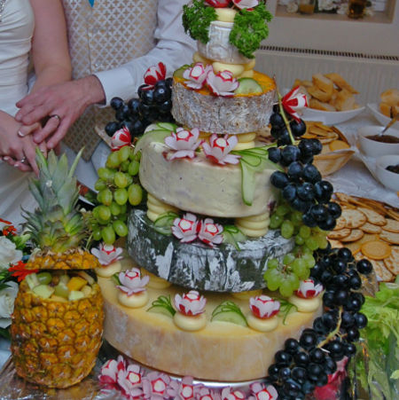 Cheese Wedding Tower